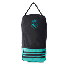 Original MULTI real madrid black unisex-Portabotas FOOTBALL BACKPACK Synthetic-real madrid official, SPORTS cosmetic bag