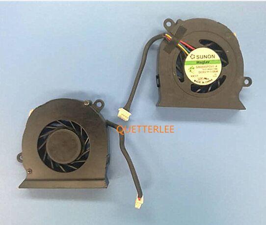 Livraison gratuite ventilateur de refroidissement pour DC280005AS0 HP EliteBook 2530 p 2530 GB0555PDV1-A ventilateur de refroidissement 13. V1.B3527. F. GN 492568-001