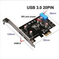 STW 3002 PCI E USB 3 0 tarjeta de expansión almacenajes previos usb3.0 20pin + 2 Tarjeta USB 3 0 usb 4pin usb 3.0 usb 3.0 card -