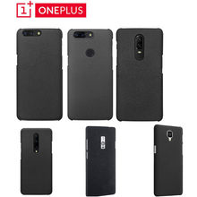 Sandstone Hard slim Matte Skin back Case Cover For OnePlus One X 2 3 3T 5 5T 6 6T 7 Pro(China)