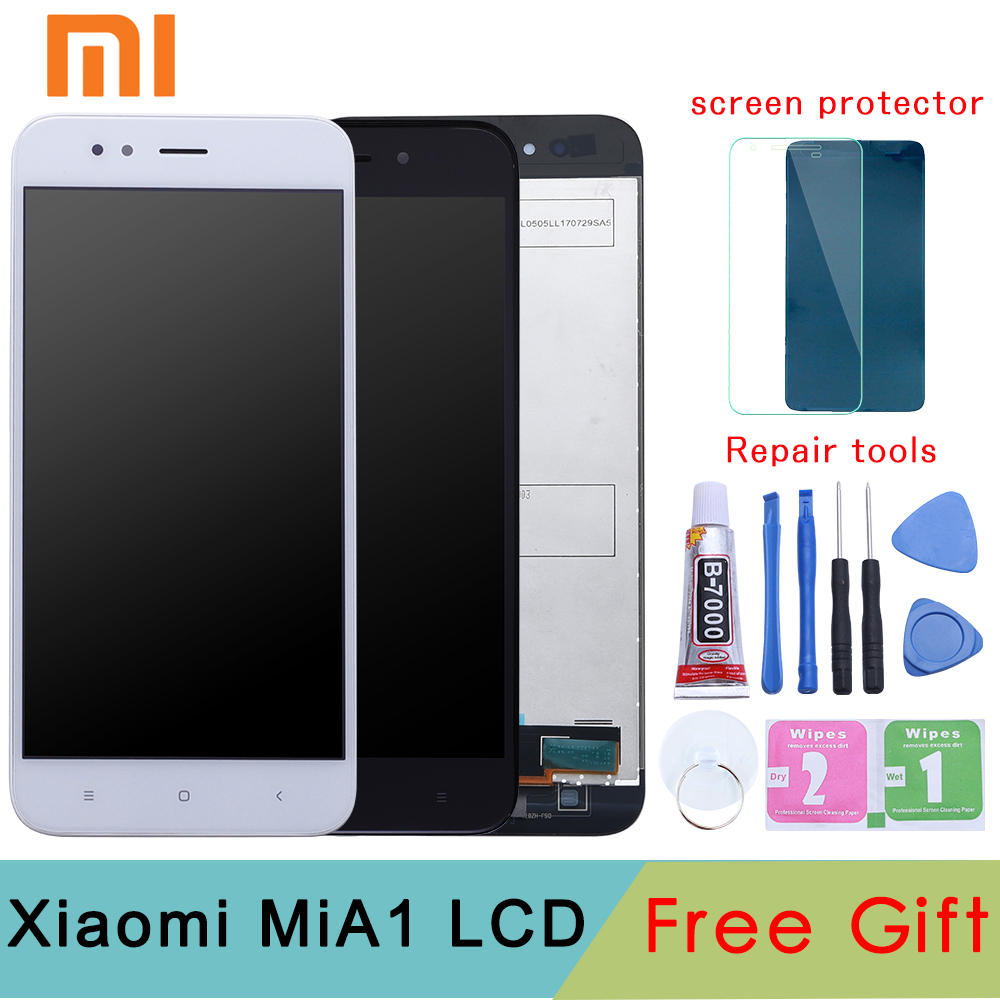 Xiaomi Mi A1 LCD Display+Touch Screen Xiaomi Mi5X LCD Digitizer Premium Replacement for Mi 5X MiA1 Mi A1 4GB 32GB 64GB 5.5