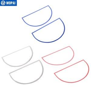 Image 5 - MOPAI ملصقات ديكور حلقة سماعات صوت لوحة القيادة لسيارات جيب رانجلر JK 2007 2010 اكسسوارات السيارات الداخلية
