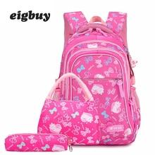 Lightweight Waterproof Bag Kids School Bags Child Orthopedics Schoolbags Boys School Bags Children Backpacks For Teenagers недорого