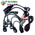 Full Set 8 TCS CDP Pro Car Cables OBD/OBDII Diagnostic Connector For Multi-Brand Cars Professional Auto Cable Car Interface