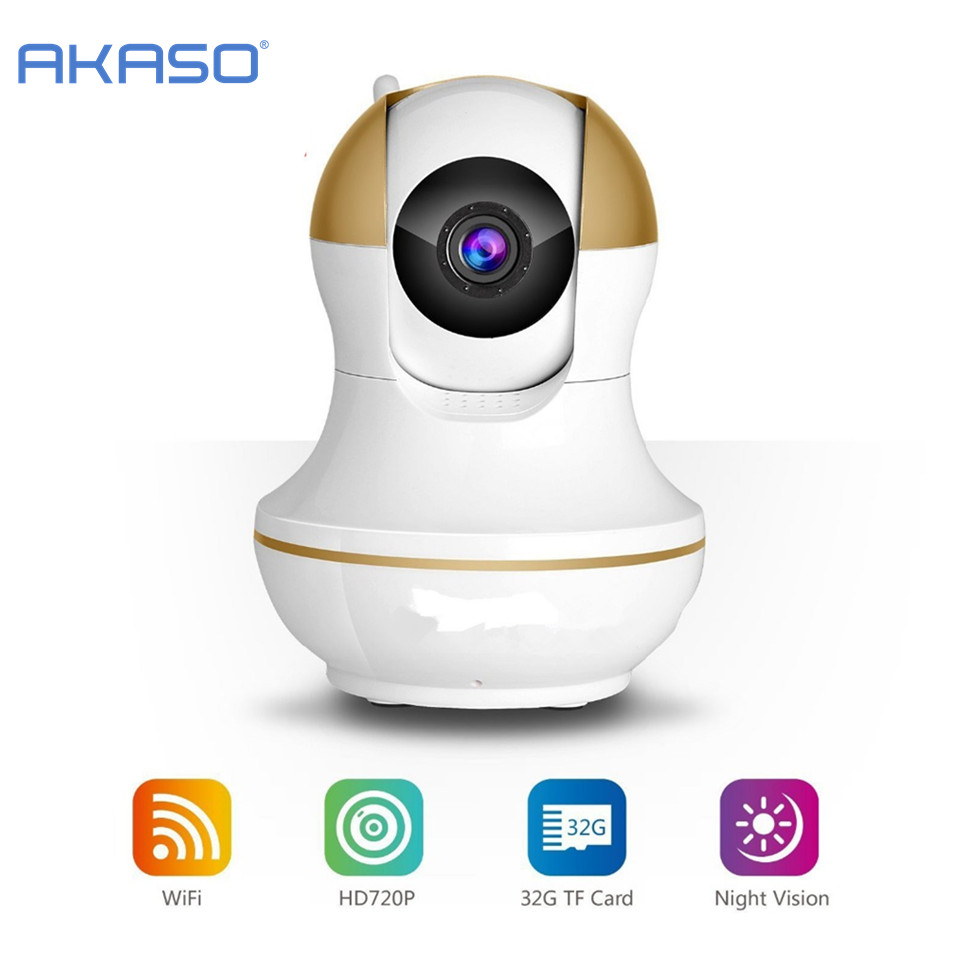 WiFi Wireless 720P IP Camera WiFi IP Camera Two Way Audio Baby Monitor Pan Tilt Security Camera  Night Vision 5 Color wifi wireless 720p ip camera wifi ip camera two way audio baby monitor pan tilt security camera easy qr code scan connect