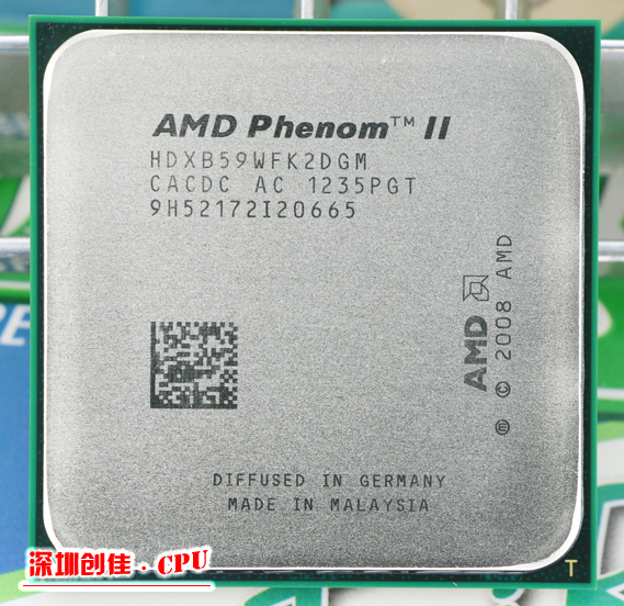 Free shipping Original AMD Phenom II X2 B59 CPU/6M/3.4G/AM2+/AM3 Desktop processor scrattered pieces