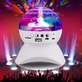 2016 Беспроводной Динамик 3 Вт Светодиодные Шар Света Этапа Диско Лампы Магия Bluetooth 2.1 + EDR RGB LED Подсветкой Поддержка TF Карта FM радио
