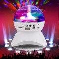 2016 Wireless Speaker 3 W Luzes do Palco Discoteca LEVOU Bola de Luz Da Lâmpada Mágica bluetooth 2.1 + edr rgb luz led apoio tf cartão de rádio fm