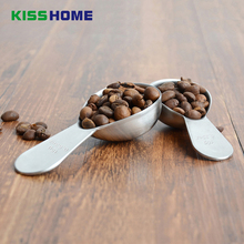 Coffee Bean Measuring Spoon Thickness Stainless Steel 10g/15g Tea Milk Powder Kitchen Accessories Tools