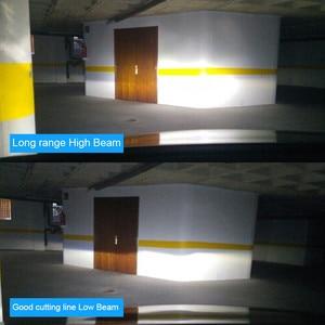 Image 5 - Hlxg Mini H4 LED H7 H11 H8 HB4 H1 HB4 HB3 CSP Auto Scheinwerfer Lampen 8000LM 6000 K 12 V keine Radio Inteference Anti EMC FM Flimmern 36 W