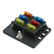 6 Way Blade Fuse Box Holder with LED Warning Light 12 Fuses for Car Boat Marine_220x220 fuse box clicking relay clicking rapidly \u2022 free wiring diagrams buzzing noise coming from fuse box in car at n-0.co