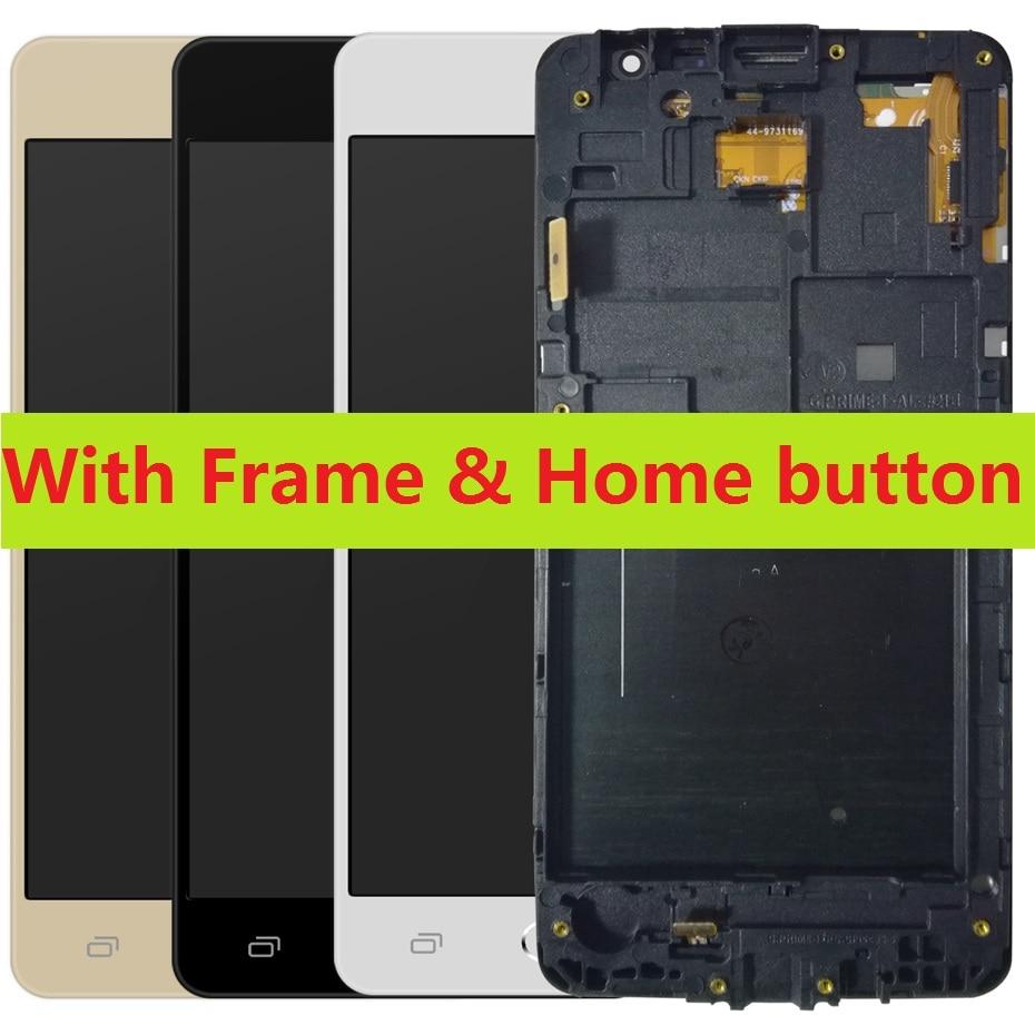 Pour Samsung Galaxy Grand Prime SM-G531H G531H/DS G531F/DS tactile numériseur capteur LCD écran d'affichage avec cadre accueil bouton + Kits