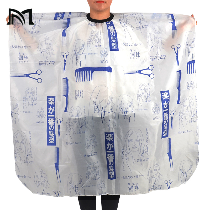 Pro Salon Pattern Hairdressing Cape Wrap Gown Apron Barber Hairdresser 100X140cm Hair Cutting Styling Tool peluqueria accesorio