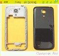 Original oriente moldura quadro bateria de volta caso capa para Samsung Galaxy S4 Mini I9190 I9195 i9192 habitação + câmera lente de vidro + logotipo