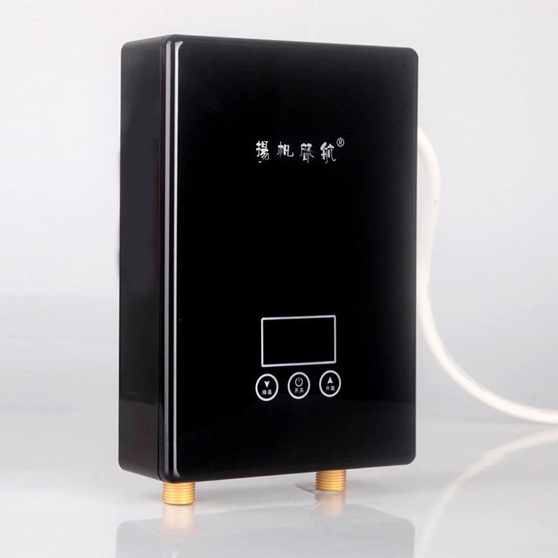 Instantânea Aquecedor Elétrico de Água da Conversão de Freqüência Inteligente Temperatura Constante Aquecedor de Água 220 V