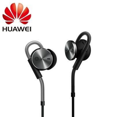 100% original am180 auricular cancelación de ruido activa hi-fi en la oreja los auriculares de 3.5mm jack de control para huawei teléfono