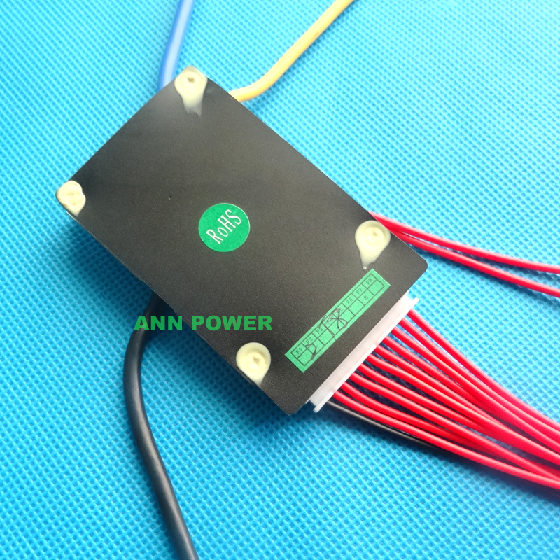 Image 4 - Free Shipping 36V lithium ion battery protection circuit 10S 36V/37V 15A BMS ON/OFF switch wires and small size L65*W40mm36v lithium ion battery36v battery lithiumbms battery - AliExpress