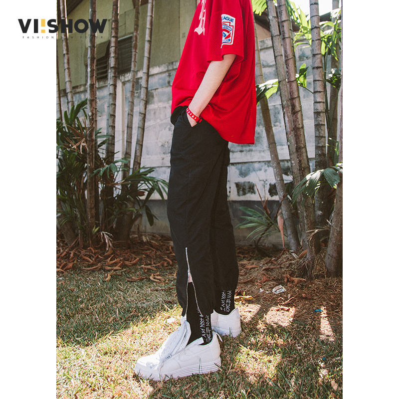 VIISHOW Summer Designer Brand Casual Cotton Pants Male Ankle length Pants Straight Leg Stretch Men's Dress Pants pant Trousers-in Sweatpants from Men's Clothing    1