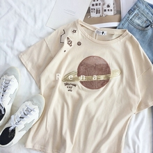 Buy sequin sleeve tee and get free shipping on AliExpress.com 00b16362f1b5