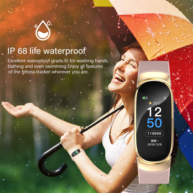 2019 New Smart Watch Men Women Sport Waterproof Bracelet Ladies smartwatch heart rate monitor Pedometer fitness tracking band