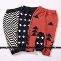 2016 nova Kint kidsToddlers NUNUNU Harem Pants para meninos das meninas do bebê calças de Algodão 3 Cores de Outono Inverno