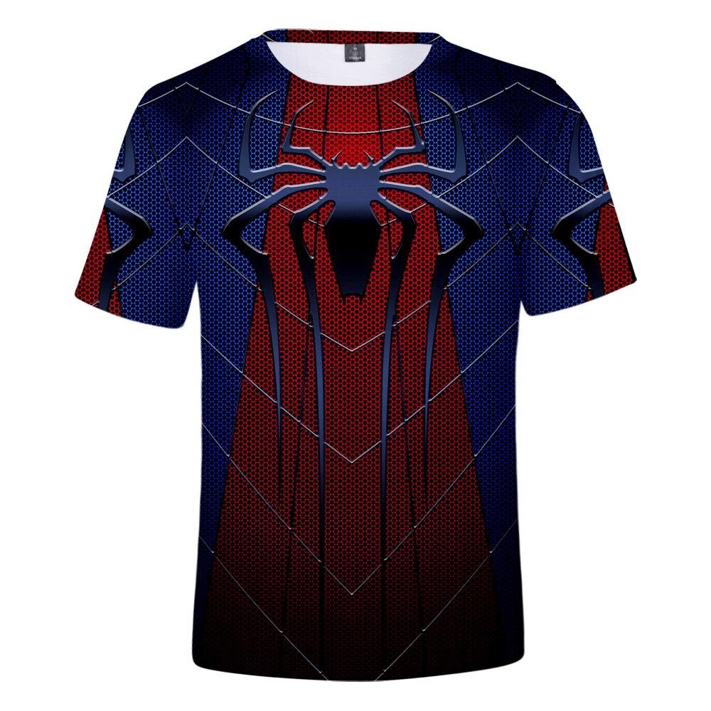 Male 3d Spider Man Far From Home T Shirt 2019 Endgame Mens Tshirts Summer Harajuku Anime Shirt Realm Tops Tees Man Casual