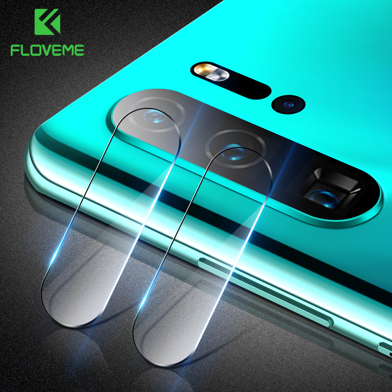 FLOVEME Screen-Protector Tempered-Glass-Film Pro-Camera Huawei P30 Phone-Lens Lite-Mate