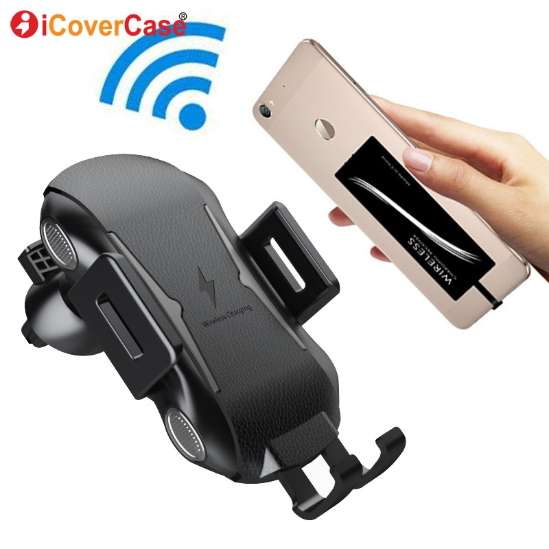 For <font><b>Nokia</b></font> 7 7plus 8 9 6.1 plus 7.1 <font><b>8.1</b></font> X6 X7 In Car Wireless <font><b>Charger</b></font> Charging Pad Qi Receiver Air Vent Outlet Mount Phone Holder image