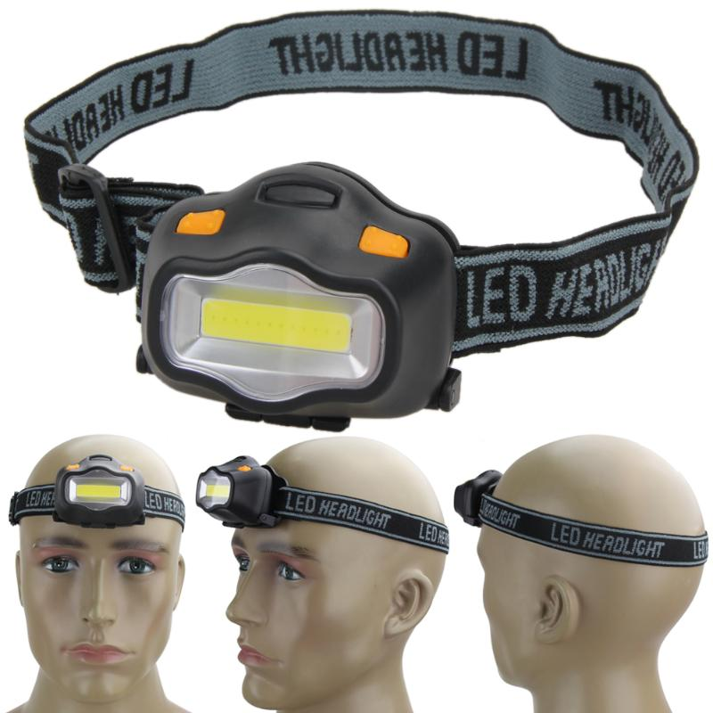 Head Lamp 12 Mini COB LED Headlight For Camping Hiking Outdoor Lighting  Fishing Reading Activities White Light Flash Headlamp