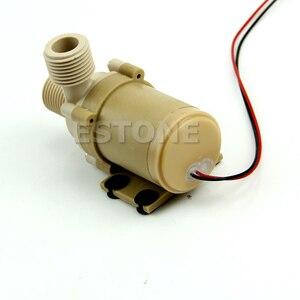 Image 2 - Çok dayanıklı 12V/24V DC güneş sıcak su sirkülasyon pompası fırçasız Motor su pompası 5M 3M yeni