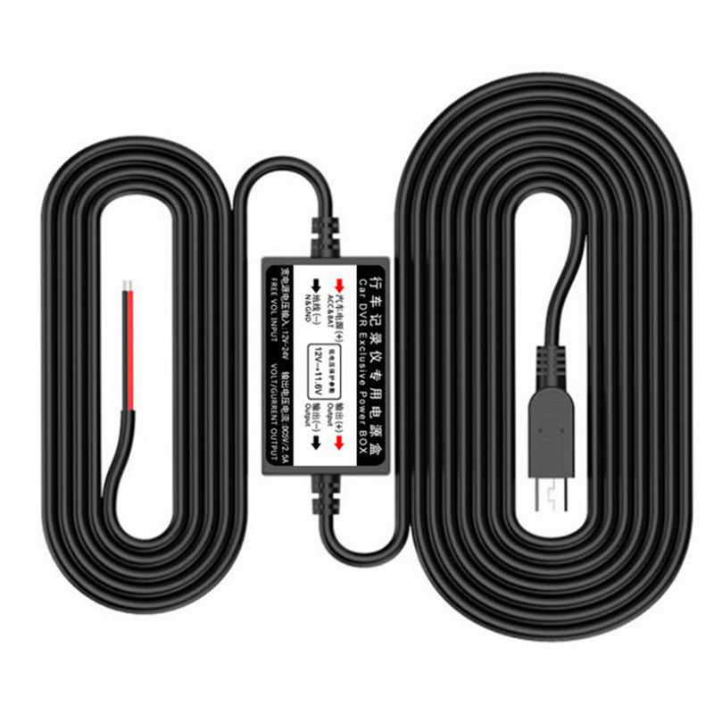 1PC 2 * 1.18in Micro/Mini USB câblé chargeur de voiture convertisseur d'inverseur de puissance pour tablette téléphone DVR enregistreur GPS 5V 2.5A