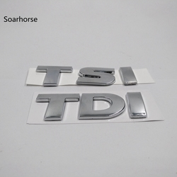 Pegatina de coche Soarhorse para VW Volkswagen Touareg TDI TSI parte trasera pegatina con Logo de maletero