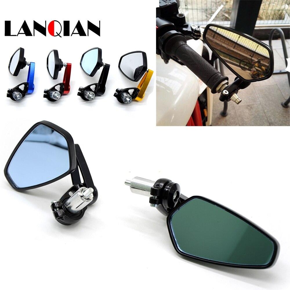 "7/8 ""22mm CNC Aluminum Motorcycle Rear View Side Mirror For Aprilia CAPANORD 1200 Rally ETV1000 MANA FALCO SL1000"