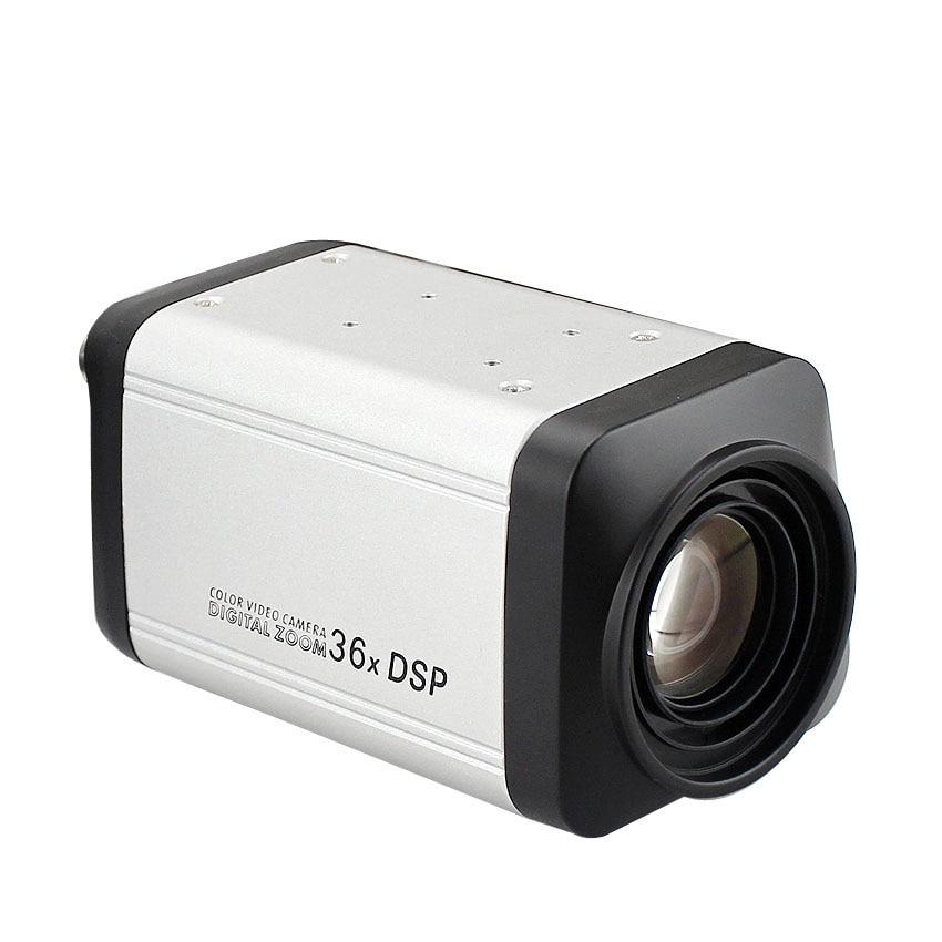 Remote controller Analog 1200TVL CMOS Auto Focus 36X Box Zoom CCTV Camera