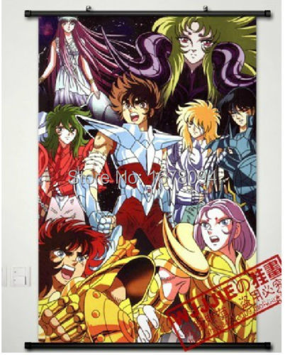 Saint seiya saint cloth myth athena home decor anime japanese poster wall scroll in painting - Decor saint seiya myth cloth ...