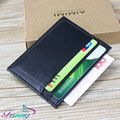 Super Quality Genuine Leather Male's Purse With Card Holder Dress Style Men's Square Wallet For Business Fashion Purse  B003
