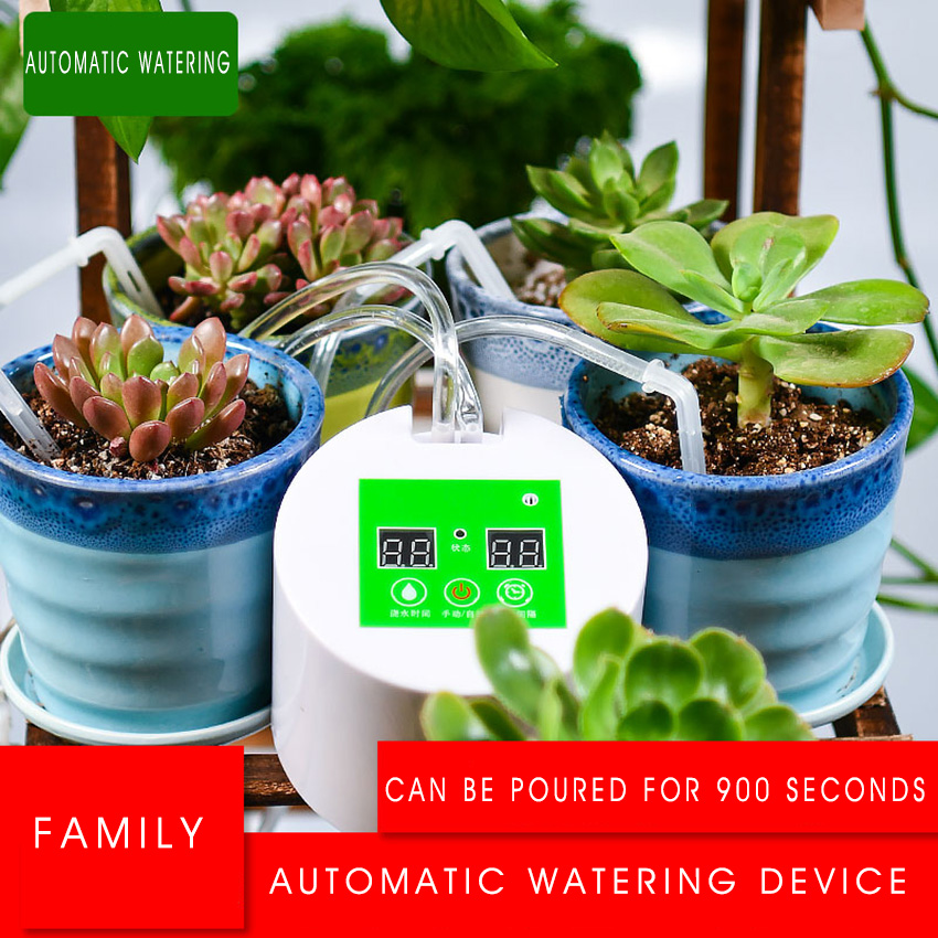 Automatic Watering Succulents Rechargeable Intelligent timed Device Balcony Office Potting Watering Kits Drip Irrigation SuitAutomatic Watering Succulents Rechargeable Intelligent timed Device Balcony Office Potting Watering Kits Drip Irrigation Suit