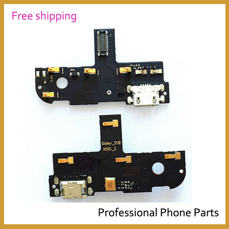 Original USB Connector Charge Charging Port Flex Cable For Lenovo S90  S90U S90-U S90-T  ,