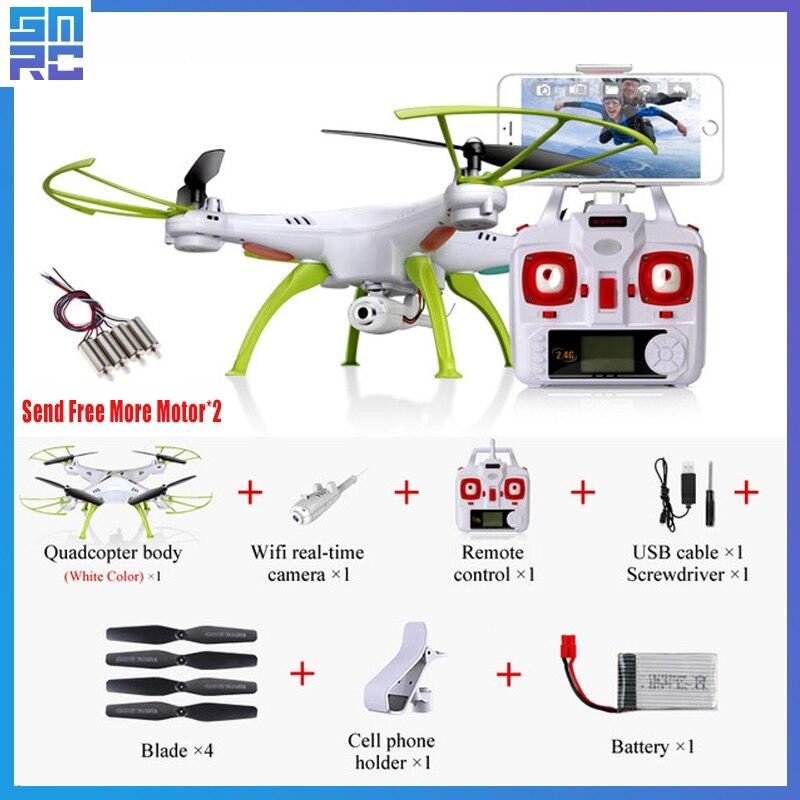 D'origine Syma X5HW (X5SW Mise À Niveau) racing selfie Dron FPV Quadrocopter drone avec Caméra HD 2.4G 4CH hélicoptère rc wifi USB Jouet
