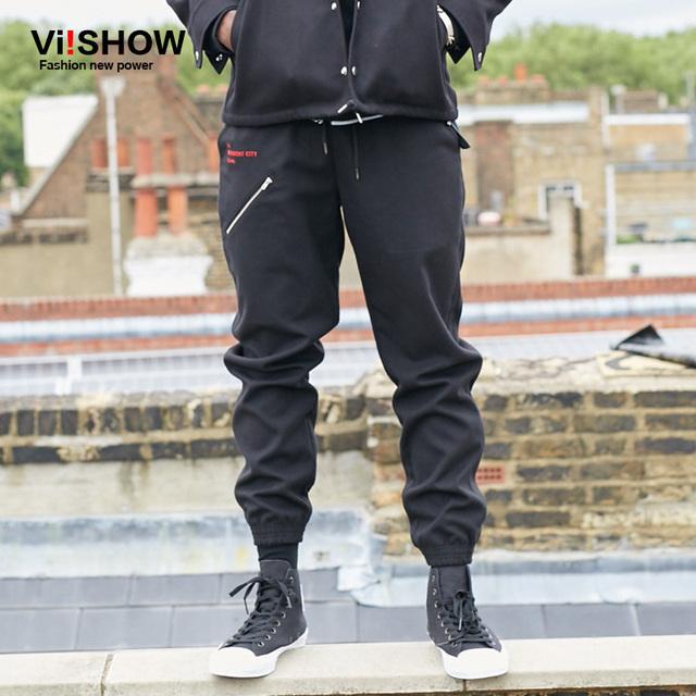 Viishow Hombre Pantalones Otoño Pantalones del Mens Pantalones Pantalones Pantalones Casuales Delgado de la Aptitud Pantalones Sweatpant Hombres pantalones hombre