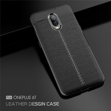 For Cover Oneplus 6T Case One plus Luxury Armor Rubber Phone Silicone 1+6T Shell Fundas