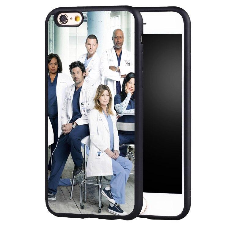 Coque Capa GREYS ANATOMY  case cover For Samsung s4 s5 s6 S7 S6edge S8 S8plus note 2 3 4 5
