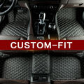 Custom fit esteiras do assoalho do carro para Toyota Land Cruiser 200 Prado 150 120 Rav4 Highlander Camry Corolla Avalon carro styling forros