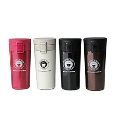 Coffee Thermos 304 Stainless Steel 380ml Car Thermos Travel Mug High-grade Thermos Hot Water Cup Portable Thermos thermos jmz600 bk