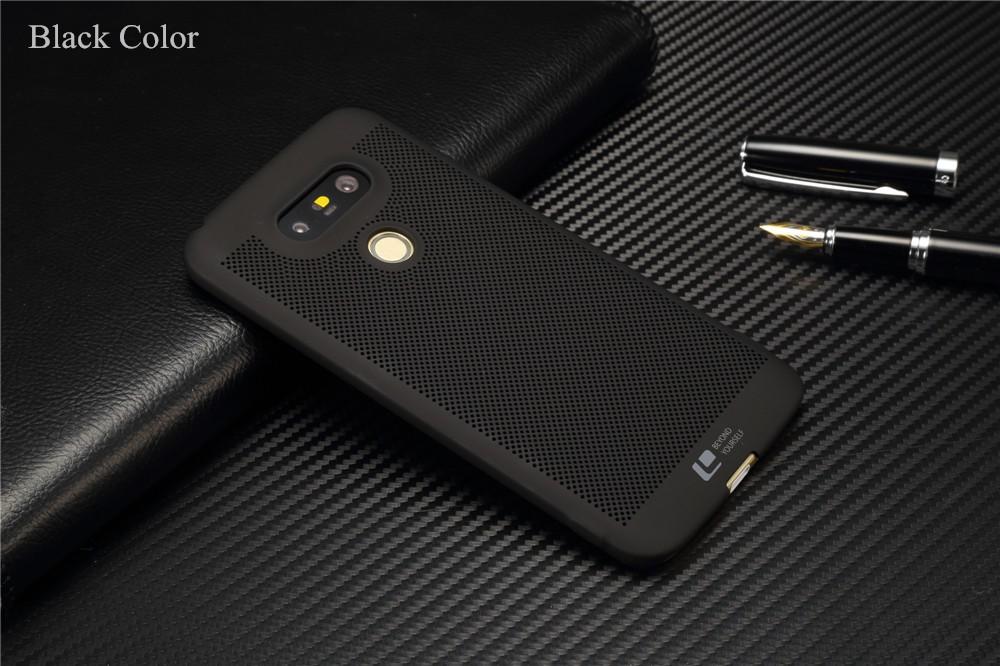 Luksusowa marka ultra thin Nowy siatka powrót pokrywy skrzynka dla LG przypadkach i pokrowce na g5 G5 oryginalne akcesoria 8