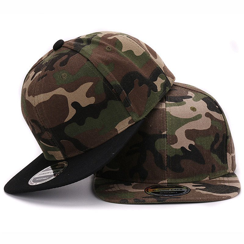 HATLANDER Camouflage snapback polyester caps