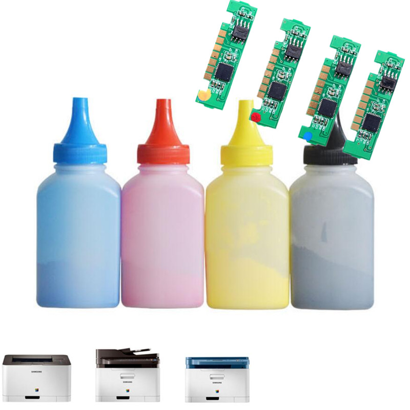 CLT-406 Toner Refill Kit powder + 4 color chips For CLP 360 365 365W 366W CLX3305 3305W 3306FN Laser Printer Powder