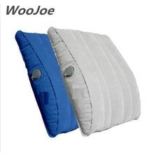 2017 calidad marca multifunción profesional ayuda de la cintura almohada cojín inflable travesseiro almohada lumbar almohadas