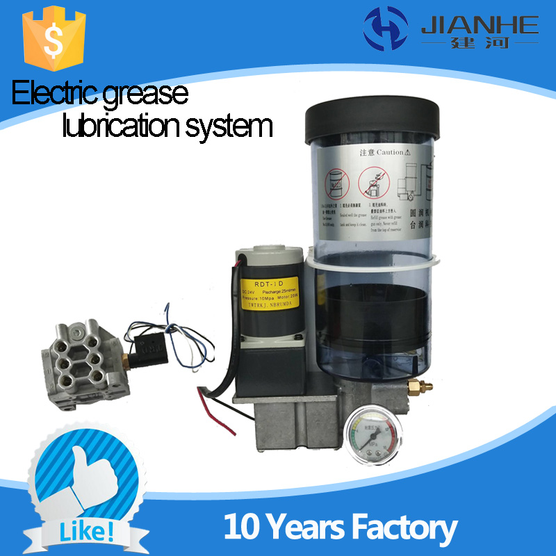 Full set central lubrication system Electric Grease Lubrication Pump For CNC Machine full set 1 5l fully automatic lubrication pump 220v single screen oil lubrication pump for cnc router