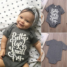 Short Sleeve Baby Bodysuit 0-24M